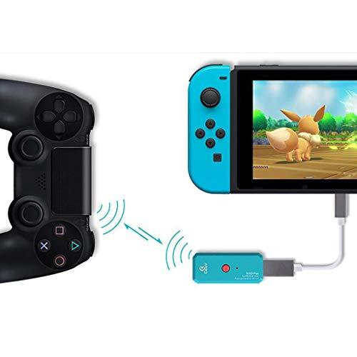Konverter Drahtloser Adapter Unterstützt PS4 Wireless Handle Converter für Nintendo Für Sony Playstation PS4