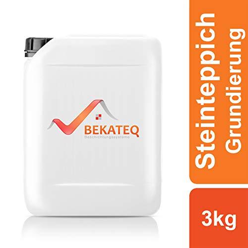 BEKATEQ BK-620EP Steinteppich Grundierung, 3kg farblos, 2K Epoxidharz Tiefengrund Natursteinteppich
