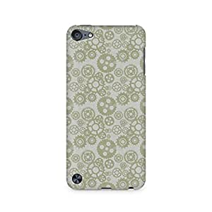 TAZindia Vintage Gears Premium Printed Case For Apple iPod Touch 6