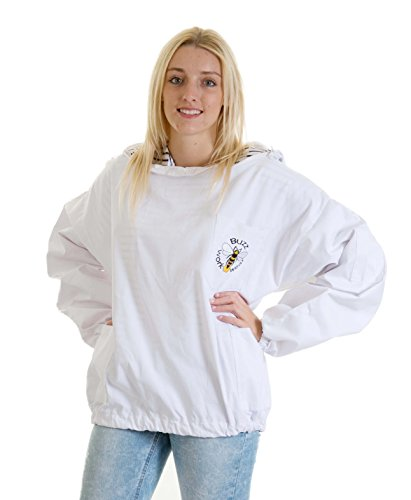 Buzz Workwear Beekeepers Tunic with fencing/astronaut veil -2XL 6