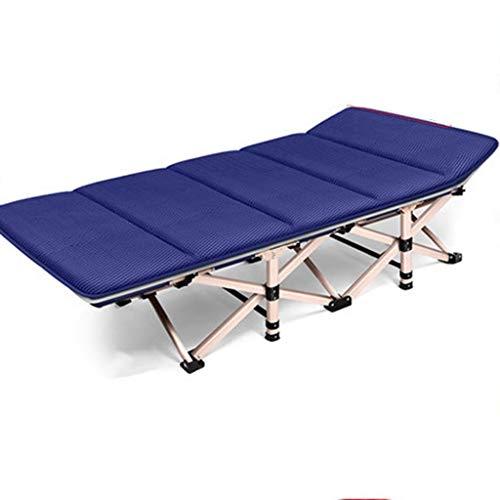 Jolly Faltender Gast-Bettrahmen mit Komfort-Schaum-Matratze, Büro-kampierendes begleitendes Bett-Ausgangserwachsenes Bett Siesta (Größe: 75