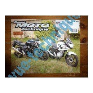 RRMT0158.1 REVUE TECHNIQUE MOTO – SUZUKI GSF1250 et 1250S Bandit – GSX1250FA de 2007 à 2010 – HONDA CBF125 de 2009 et 2010