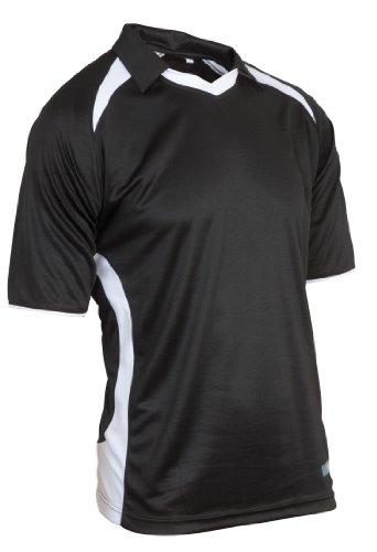 KOOKABURRA Herren React Match-Shirt, Schwarz/WeiÃ?, XL