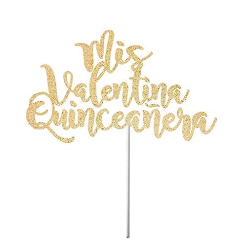 5 Geburtstag, Quinceanera-Topper, Miss Quince Party-Dekoration, Espanol Dekor ()