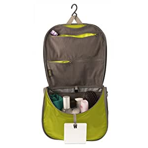 Sea to Summit Travelling Light Hanging Toiletry Bag (Large/Lime Green)