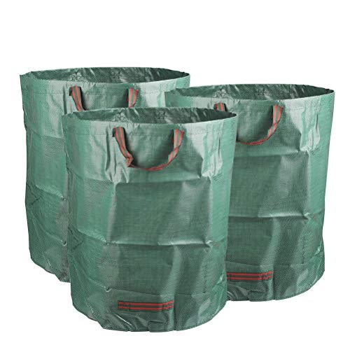 TIMESETL 3Pack Garden Bags 810 Litros pop-up bolsa