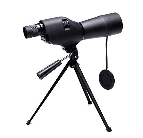 Hawkeye 20-60X60AE Longue-vue Téléscope Monoculaire, Spotting Scope avec Trépied, Zoom Optique 41-21m / 1000m pour des Exercices de Tir en Extérieur