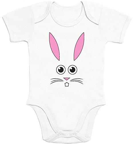 Süsser Kleiner Osterhase - Ausgefallene Babykleidung Baby Strampler Body Kurzarm 12-18 Months Weiß