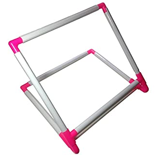 BaouRouge' Double Universal Clip Frame / Stand for Embroidery, Quilting, Cross-stitch, Needlepoint, Silk-painting, etc - 35x30x25cm