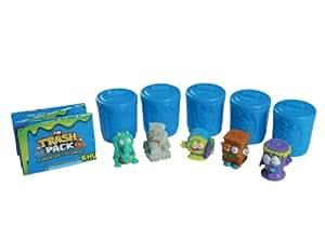 Giochi Preziosi 70680441 - Trash Pack 3, 5 Figuren mit 5 Mülltonnen