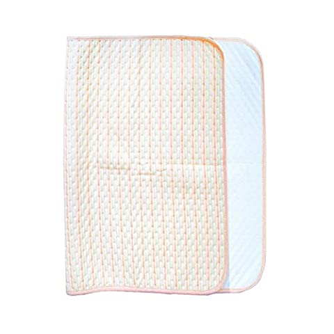 Crib Mattress Cover - Waterproof Crib Mattress Protector Hypoallergenic Quilted Crib Fitted - Cradle Mattress Pad (27.6×47.3