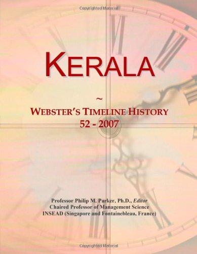 Kerala: Webster's Timeline History, 52-2007