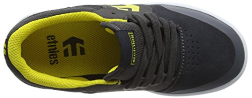 Etnies Marana, Unisex-Kinder Skateboardschuhe Grau (Grey/Yellow360)