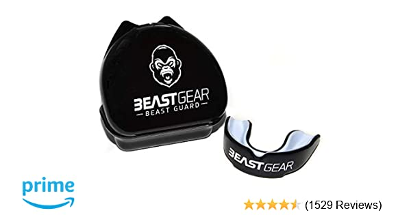 Beast Gear Mouth Guard/Gum Shield - for boxing, MMA, rugby, muay thai,  hockey, judo, karate martial arts and all contact sports