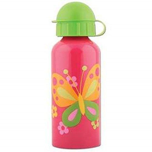 Stephen Joseph Butterfly Stainless Steel Water Bottle, Hot Pink/Bright Green by Stephen Joseph (Stephen Joseph-butterfly)