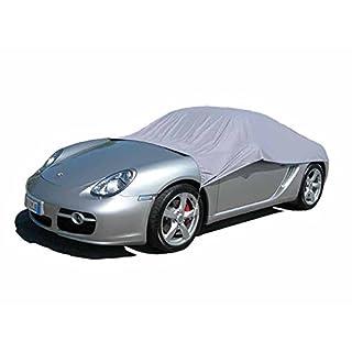 ballier Auto Halbgarage California Light - Größe SP/Limousine / Cabrio/Sportwagen - Grau