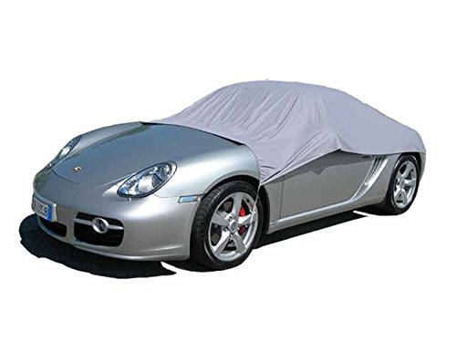ballier Auto Halbgarage California Light, Größe 3VL / Limousine/Cabrio/Sportwagen - Grau - Cabrio Abdeckung