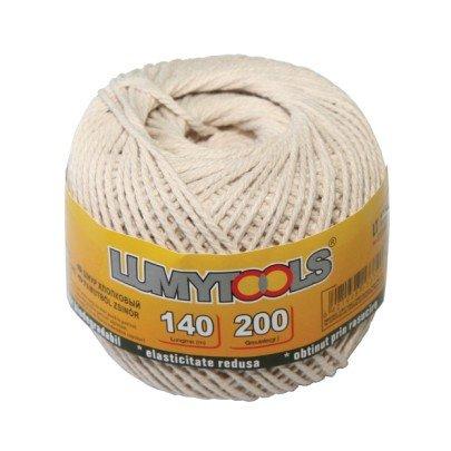cavo di cotone 70 m 100 gr LT17371 Confezione da (Biodegradabile Cotone)