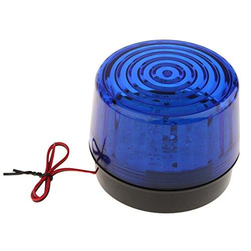 Sharplace Auto Rundumleuchte Signal LED Warnleuchte Blinkleuchte Bernsteinfarben Alarm Licht - Blau