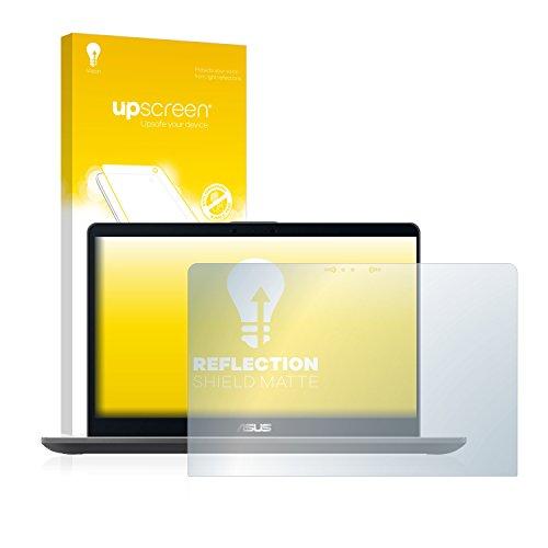 upscreen Matt Schutzfolie kompatibel mit Asus Zenbook Flip 15 UX561 - Entspiegelt, Anti-Reflex, Anti-Fingerprint