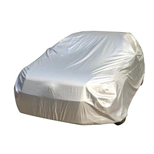 logei®Garaje Ganzgarage cubre Garaje lona lona cubierta especial resistente al agua para espejo retrovisor cubierta de coche(450 x 175 x 150cm),plata.