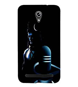 For Asus Zenfone Go ZC500TG (5 Inches) shiva, god, baghwan, lord, jesus, cristrian, allah Designer Printed High Quality Smooth Matte Protective Mobile Case Back Pouch Cover by APEX ELEGANT