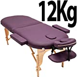 Best Portable Massage Tables - Massage Imperial® Lightweight Professional 2-Section Purple Orvis Portable Review