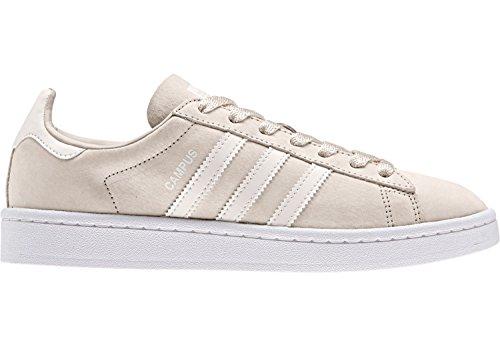 adidas Damen Campus Sneakers Braun (Clear Brown/footwear White/rose Crystal White)