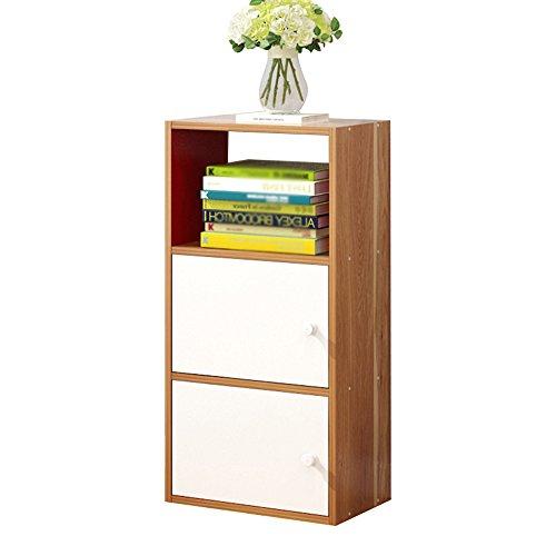 SJ Regale Floor-to-Floor Wohnzimmer Aus Holz 2/3 Regale Buch Veranstalter Moderne Minimalistische Kombination Schließfächer ( Farbe : 2# , größe : 3 layers )