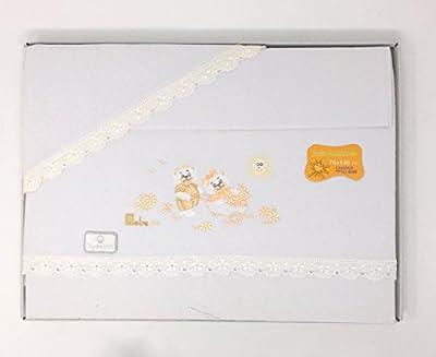 Sabanas franela 100% Algodón MAXICUNA - Teddy - Color Blanco-crudo (bajera+encimera+funda almohada).Danielstore
