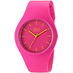 TKO Women's TK643FS Sport Watch with Rubber Band
