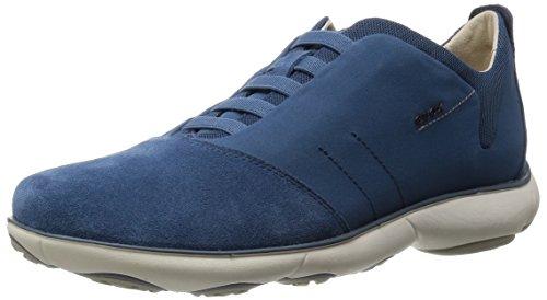 Geox U Nebula B, Sneakers Basses Homme Bleu (C4005)