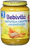 Bebivita Kartoffeln, Karotten und Rindfleisch, 6er Pack (6 x 190 g)