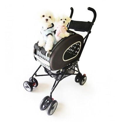 Pet Stroller,IPS-020/Blue, dog carrier, trolley, Trailer, Innopet, 5-in-1 Pet Buggy.Foldable pet buggy, pushchair, pram… 5