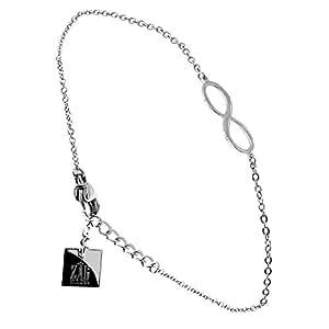 Bracelet infini Zag bijoux (gun)
