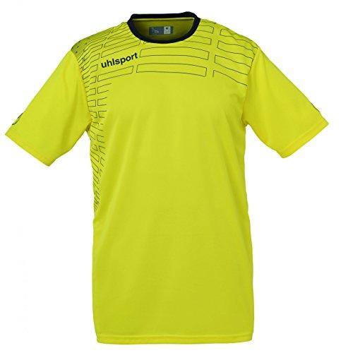 Uhlsport Match Teamsport kit (shirt & Short rts) ss rot/weiß Gelb