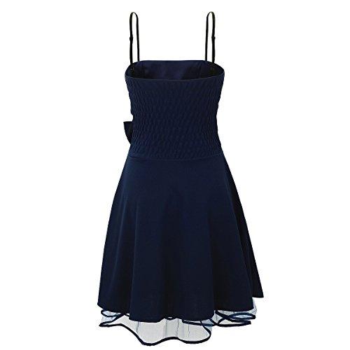 Laeticia Dreams Damen Kleid Petticoat Rockabilly S M L XL Marineblau
