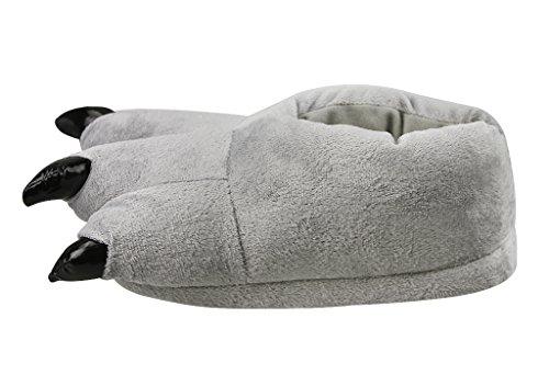 Jungen Pantoffeln, Herren Süße Hausschuhe Plüsch Wärme Kuschelige Home Rutschfeste Slippers für Winter Herbst 40-43 #3