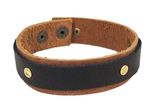 Sakhi Styles 100% leather Designer bracelet .