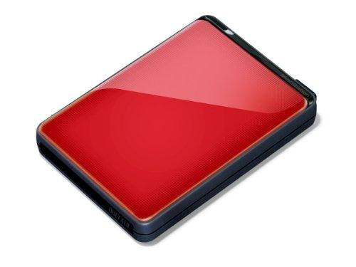 Buffalo MiniStation Plus HD-PNT500U3R-EU 500 GB Externe Festplatte (6,4 cm (2,5 Zoll), 7200 rpm, 8MB Cache, SATA, USB 3.0) rot -