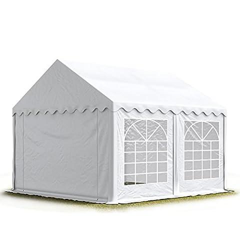 PROFIZELT24 Party-Zelt Festzelt 3x5m Garten-Pavillon -Zelt mit Fenstern, hochwertige 500g/m²