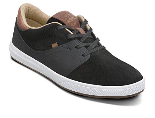 Globe Mahalo SG, Scarpe da Skateboard Unisex – Adulto Nero (Black / Brown / Hart)