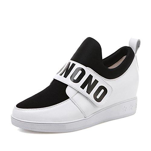 Les souliers/escoge los zapatos/Tête ronde a augmenté dans les chaussures Velcro/souliers de travail A