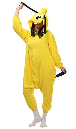 Auspicious beginning Unisex-adult Pluto Cosplay-Kostüm-Karikatur-Schlafanzüge Pyjama Freizeitkleidung -