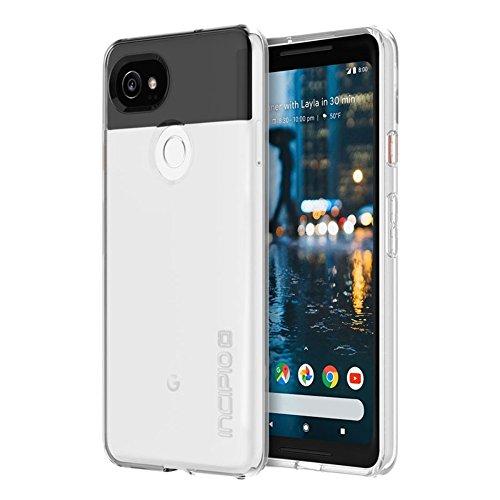 Incipio NGP Pure Case Schutzhülle für Google Pixel 2 XL - von Google zertifizierte Schutzhülle (transparent) [Stoßfest | Reißfest | Flexibel | Transparent] - GG-018-CLR
