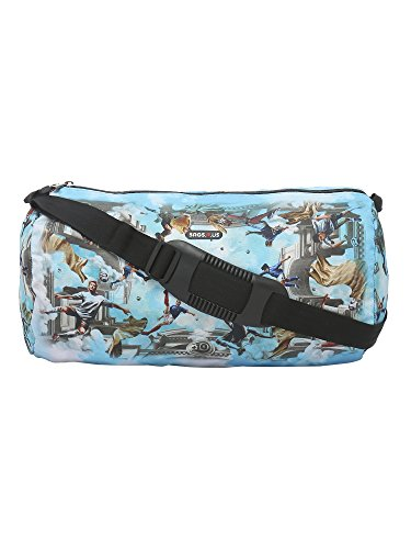 BagsRUs Sporty Blue 13 Liter Duffel Gym Tote Travel Bag (DF107FON)  available at amazon for Rs.549
