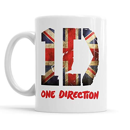 g One Direction - Union Jack - Tee/Kaffee-keramiktasse pop Rock Band Mug ()