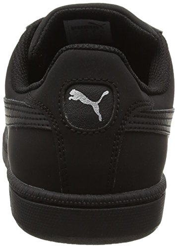 Puma Smash Buck, Baskets Basses Mixte Adulte Noir (Black/Puma Silver 22)