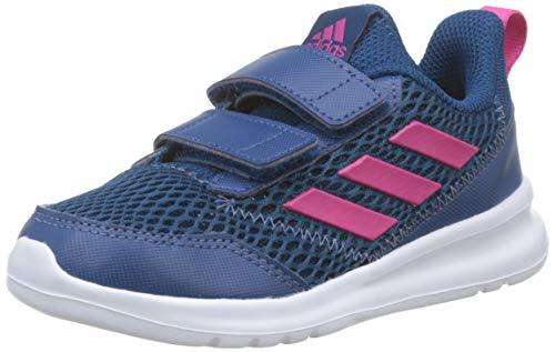 adidas Unisex Baby Altarun Cf I Gymnastikschuhe, Blau Real Magenta/Legend Marine, 19 EU