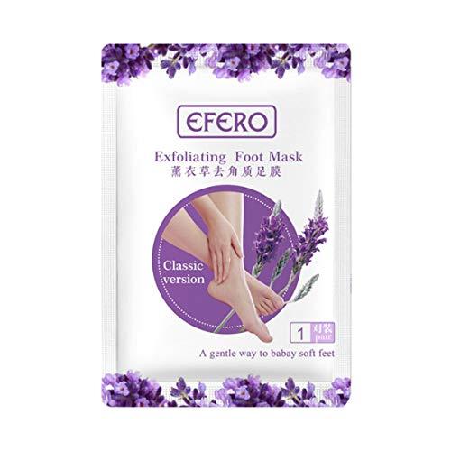 ForceSthrength 2 stücke Peeling Fußmaske Pediküre Socken Peeling Füße Maske Entfernen Abgestorbene Haut - Designs Down Bootie